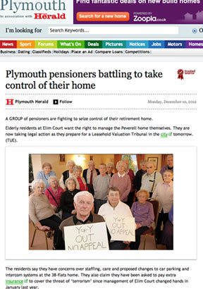 Elim Court pensioners must wait until New Year before hearing whether they are free of Gurvits