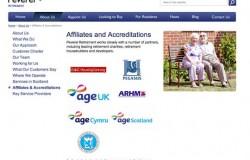 AgeUK removes logos from Peverel Retirement website