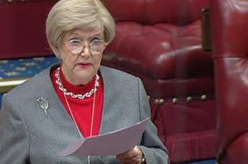 Baroness Gardner quoted figures from the Leasehold Knowledge Partnership during the debate
