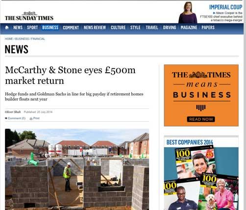McCarthy&Stonefloat