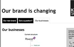 Peverel rebrand: is something up for sale?