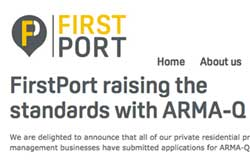 Cooee! Peverel becomes FirstPort and is heading for ARMA-Q … But will it be welcome?