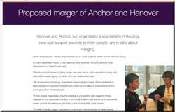 Anchor and Hanover in talks to merge