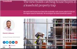 Disgraceful leasehold houses reported in The Guardian today