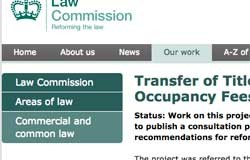 Law Commission investigates retirement transfer fees
