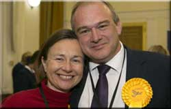 LKP patron Sir Ed Davey returns to Parliament
