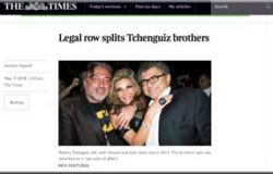 Tchenguiz brothers fall out among themselves, says The Times