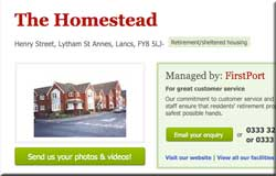 The Homestead next on FirstPort's list to flog the house manager's flat