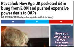 AgeUK: sort yourselves out!